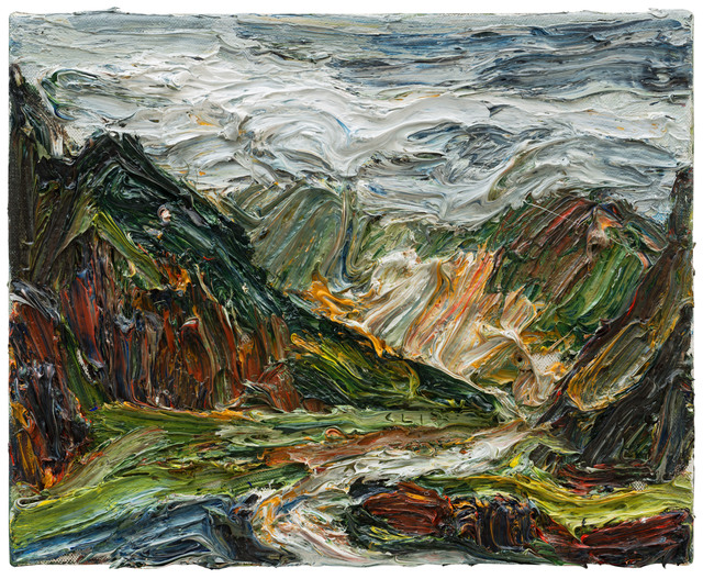 , 'Vor dem Regen,' 2017, Galerie Kornfeld