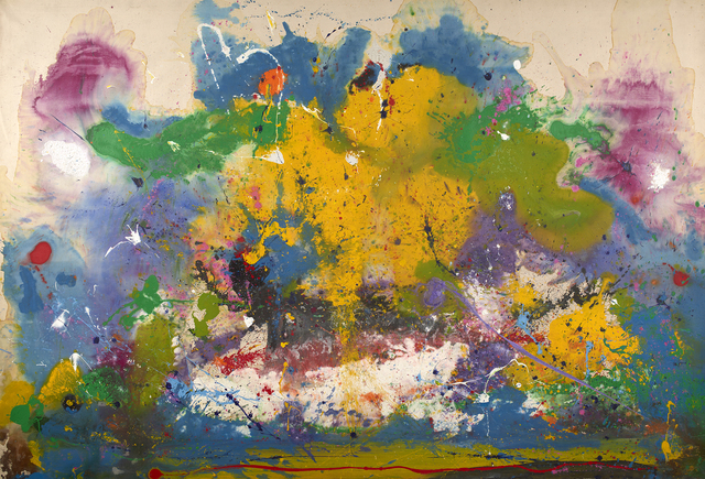 Frederick James Brown, 'In the Beginning', 1971, Painting, Oil on canvas, Berry Campbell Gallery