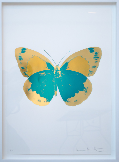 , 'The Souls II - Turquoise - Cool Gold - Oriental Gold,' 2010, David Benrimon Fine Art