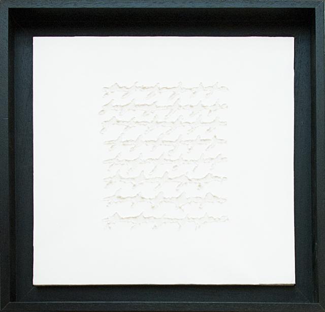 Alfredo Rapetti Mogol, 'Letters Bianco', 2012, Galleria Ca' d'Oro