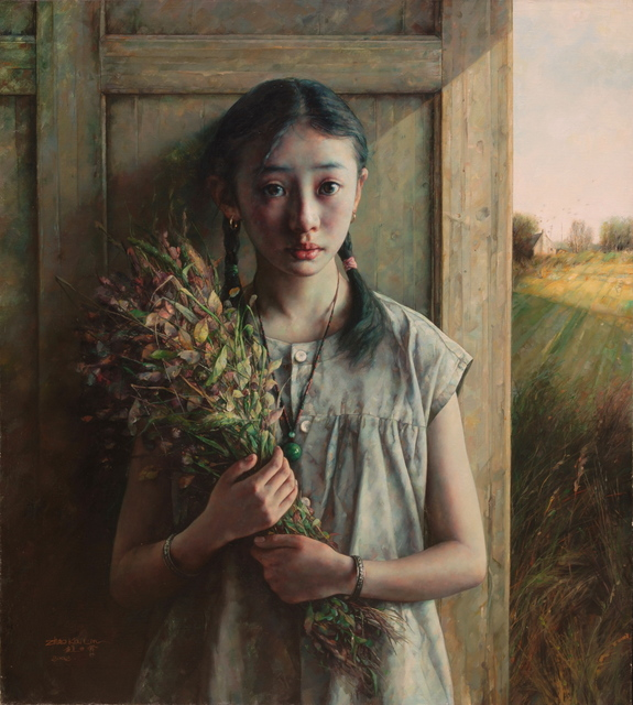 , 'Girl with Bouquet,' 2002, Odon Wagner Contemporary