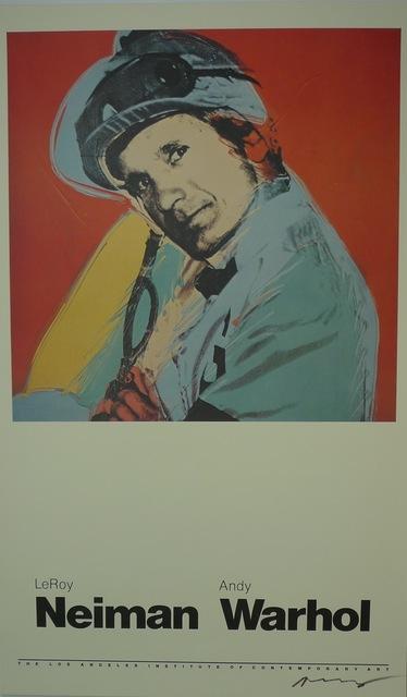 Andy Warhol, 'Willie Shoemaker', 1981, Bengtsson Fine Art