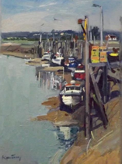 , 'Rye Harbor,' , Peninsula Gallery