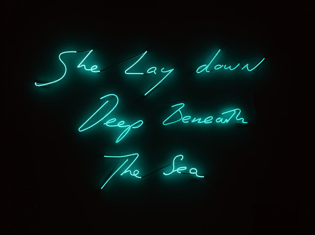 , 'She Lay down Deep beneath the Sea,' 2012, Dio Horia