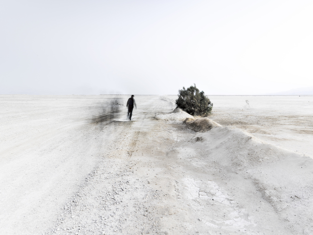 , 'White Winds #1 - Infinite Road,' 2018, Vision Neil Folberg Gallery