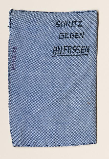 , 'Schutz gegen Anfassen,' 1970, Beck & Eggeling