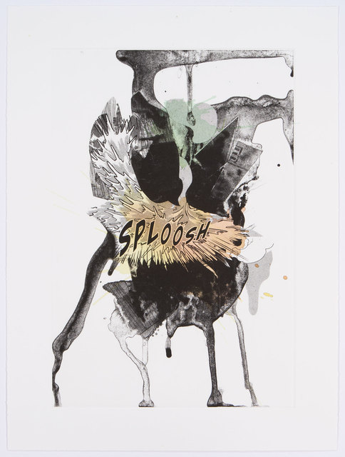 , 'Sploosh (Handpainted),' 2012, Graphicstudio USF