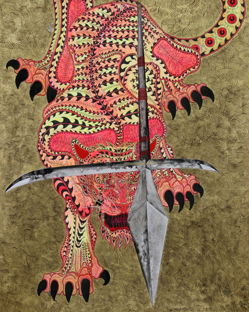 , 'Tiger Deity Jyumonji (虎神十文字),' 2015, Mizuma Art Gallery