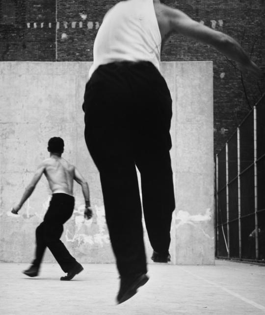 , 'Handball Players, Houston Street, New York,' 1970, Galerie Mandarine