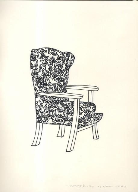 , 'Chair,' 2002, Christine König Galerie