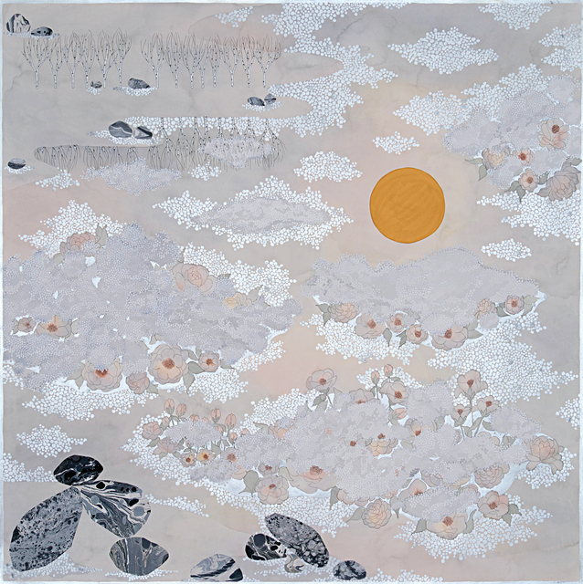 , 'the fog, ''into the night, II'',' 2019, Galerie du Monde