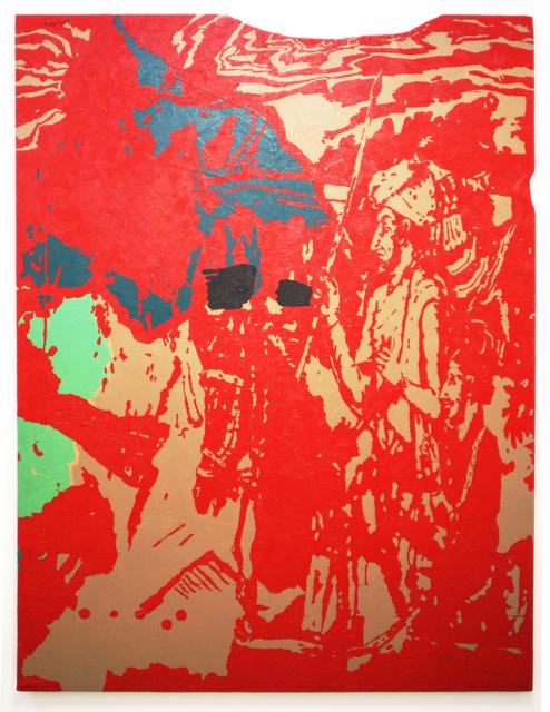 , 'Majestic cut (red),' 2008, Ota Fine Arts