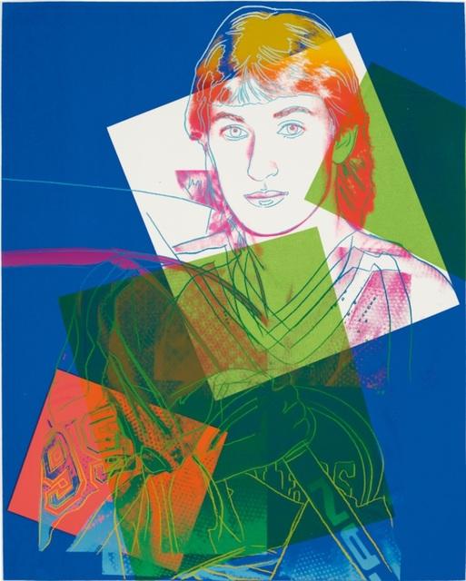Andy Warhol, 'Wayne Gretzky (FS IIB.306) Trial Proof', 1983, Revolver Gallery