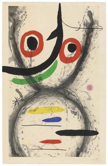 Joan Miró, 'Prise à l'hameçon', 1969, Christie's