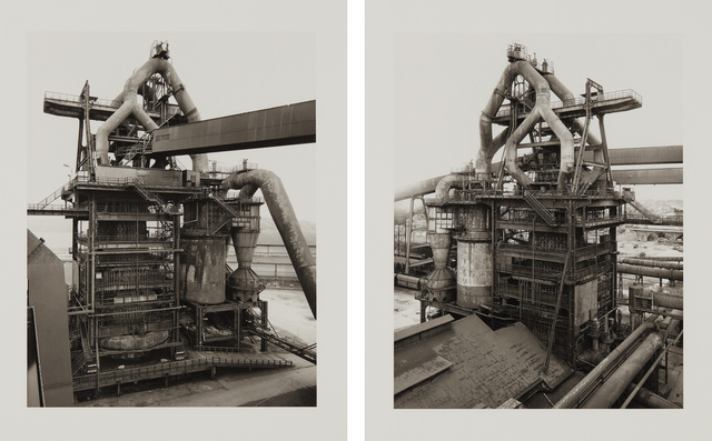 Bernd and Hilla Becher, 'Hochofen; and Ilsede/Hannover (Blast-furnace; and Ilsede/Hannover), from Sequence portfolio', 1998, Phillips