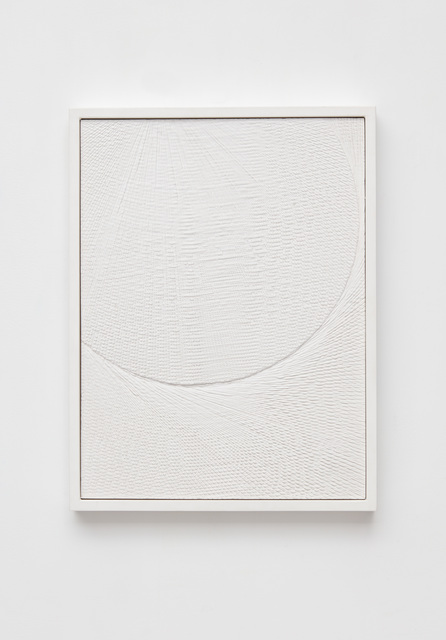 , 'Untitled (Etched Plaster),' 2017, Jason Haam