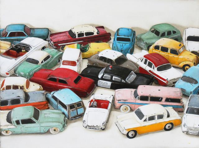, 'Dinky Toys,' 2015, Clark Gallery