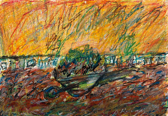 David Koloane, 'Abstract with Wheelbarrow', Strauss & Co
