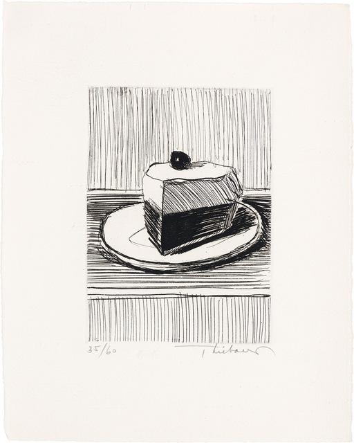 Wayne Thiebaud, 'Slice Of Pie', 1962, Doyle