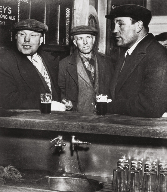, 'Patrons at the Crooked Billet, Tower Hill,' ca. 1935, Holden Luntz Gallery