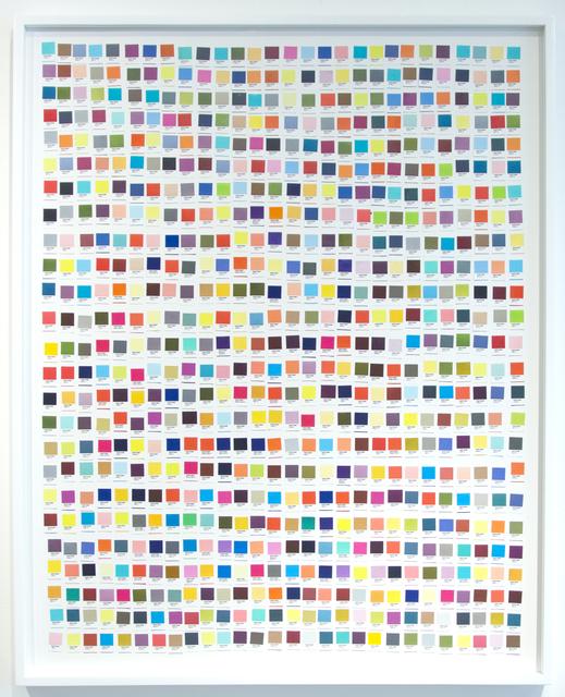 , 'Handmade: Chart ,' 2016, Galeria Nara Roesler