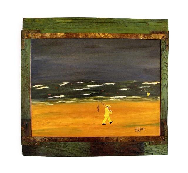 , 'Fishing,' 2014, Beth Urdang Gallery