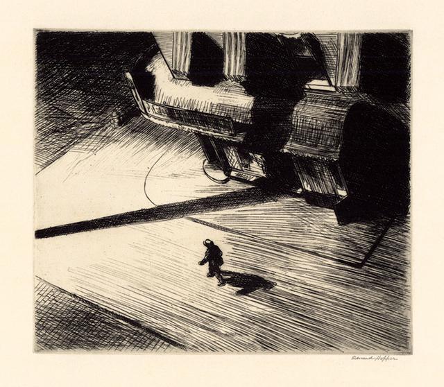 , 'Night Shadows,' 1921, Keith Sheridan, LLC