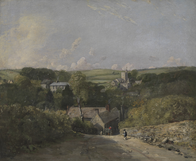 , 'Osmington Village,' , Clark Art Institute
