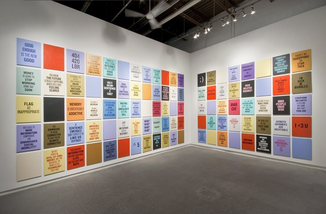 Douglas Coupland, 'Twelve Slogans for the Early Twenty-First Century,' 2011, Daniel Faria Gallery