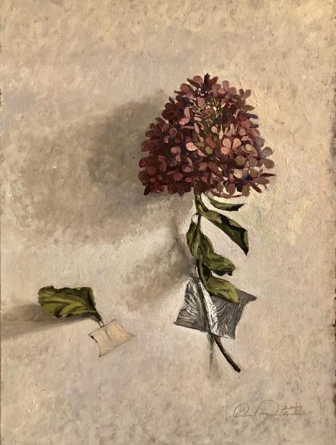 , 'Hydrangea Leaving,' 2019, Eckert Fine Art
