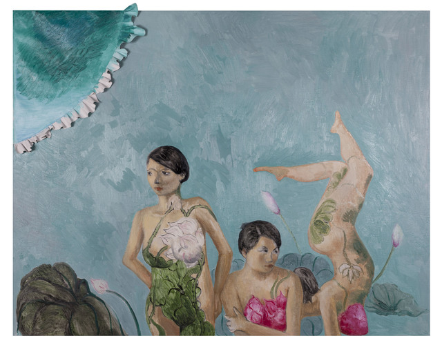 Duan Jianyu 段建宇, 'Mother's Sister's Mother's Cousin's Hunsband Is a Chef No.6', 2012, Painting, Oil on canvas, Rockbund Art Museum