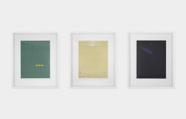 Alex Katz, 'Triptych: Northern Landscape (Fog, Bright Light, Night)', 1992, Heather James Fine Art Gallery Auction