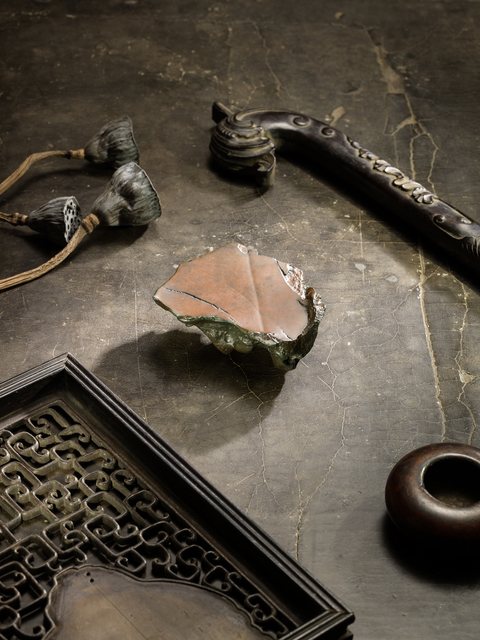 , 'A deep russet and dark-grey agate gnarled 瑪瑙賞石,' , Rasti Chinese Art
