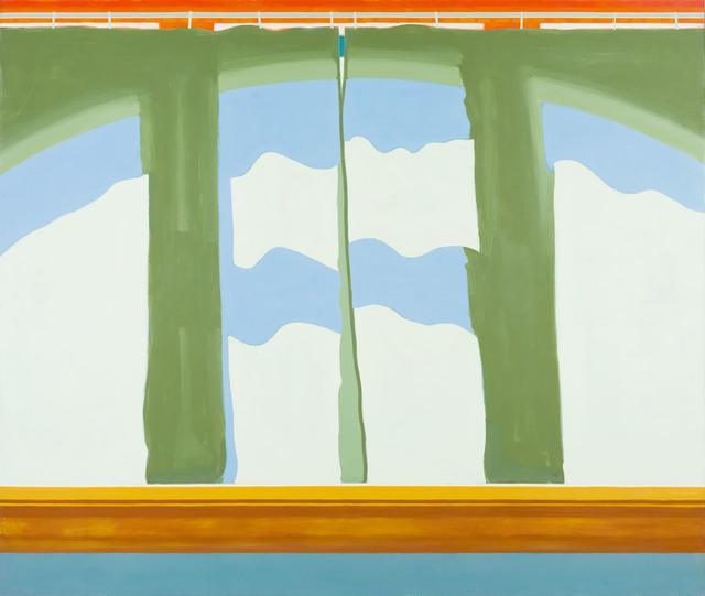 , 'Curtains #2,' 1970, Thomas Deans Fine Art