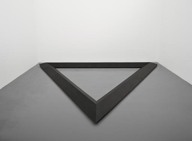 , 'Triangle,' 1977-1986, Simon Lee Gallery