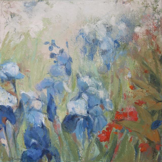 , 'Prancing Iris,' 2018, Sorelle Gallery Fine Art