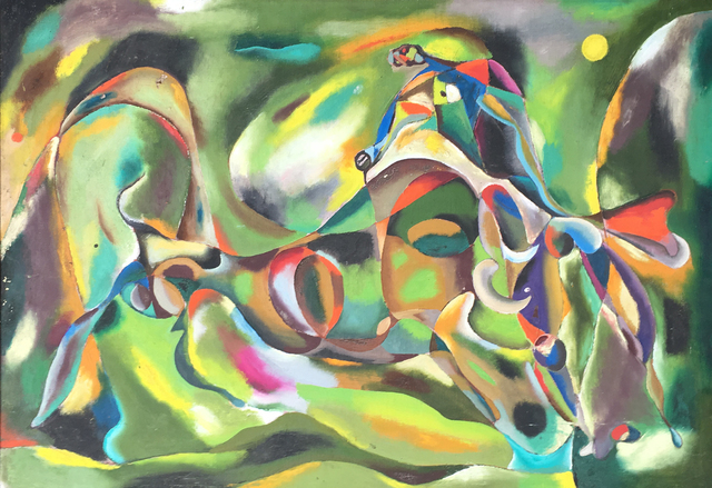 , 'Bull Fight,' ca. 1940, Francis M. Naumann Fine Art