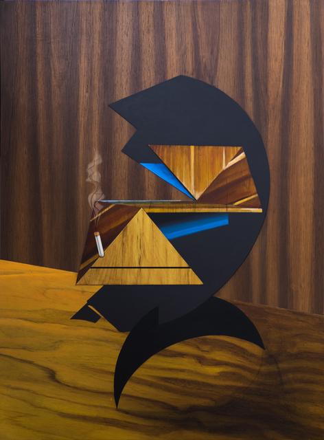 , 'Sympathetic shapes,' 2017, Machete