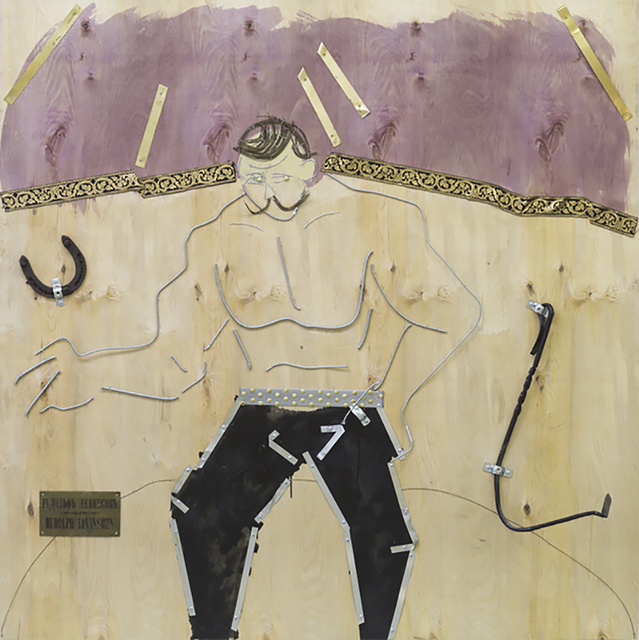 , 'Strong Man from the series Encyclopedia of Moscow Types,' 2015-2016, Pechersky Gallery