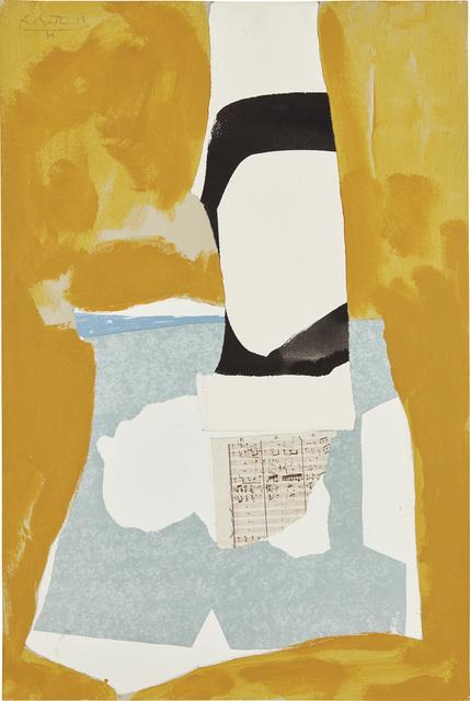 Robert Motherwell, 'Yeats' Tower', 1984, Phillips