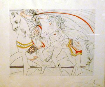 Salvador Dalí, 'Diane De Poitiers', Print, Lithograph, Zenith Gallery