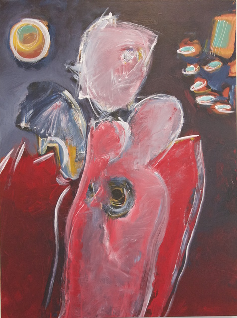, 'Figure Painting 1816,' 2015, Joshua Tree Art Gallery