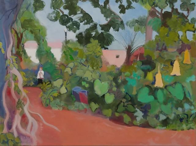 Judith Lambertson, 'Mounts Garden', 2018, Bowery Gallery