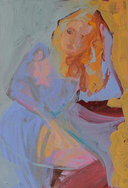 , 'Lilac Dress II,' 2017, Arusha Gallery