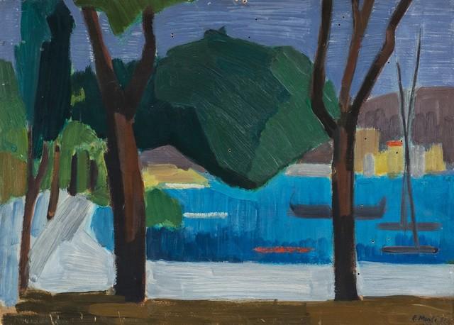 Rolando Monti, 'Paesaggio', 1951, Finarte