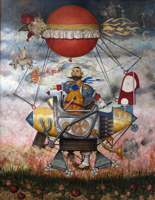 "Daron Mouradian, '""Traveler"" /""Seyyah""', 2013, Painting, Oil on canvas, Galeri 77"
