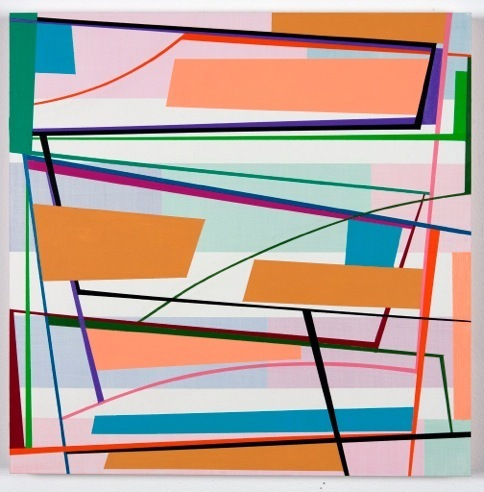 , 'Hollywood Square #3,' 2017, Mindy Solomon Gallery