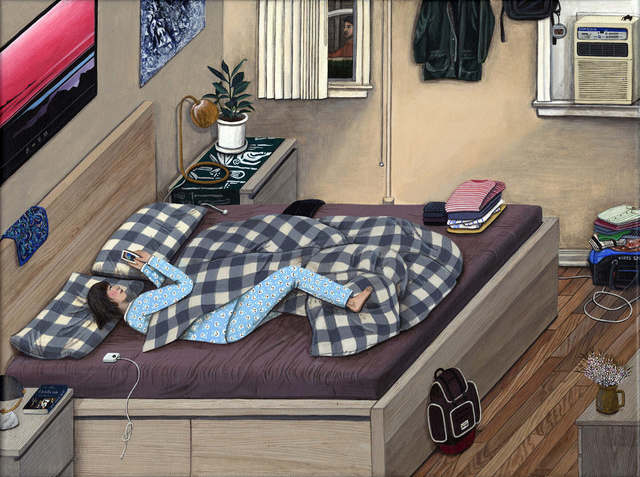 Paige Jiyoung Moon, 'Apartment #A - Bedroom', 2015, Steve Turner