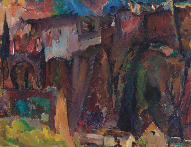 , 'The Moor's Bridge, Ronda,' 1935, Osborne Samuel