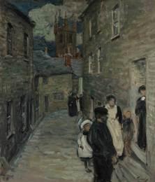 Street Scene, St. Ives